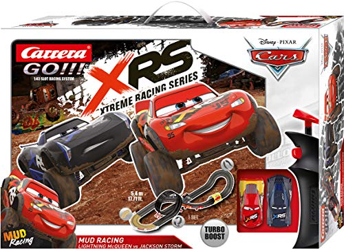 Carrera GO!!! Disney·Pixar Cars Mud Racing 20062478 Autorennbahn Set
