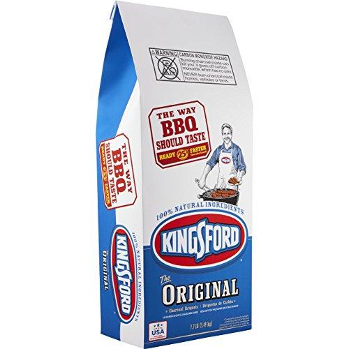 Kingsford 183268 Original Charcoal Briquettes, BBQ Charcoal for Grilling – 7.7lb Pounds