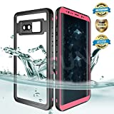EFFUN Samsung Galaxy Note 8 Waterproof Case, IP68 Waterproof Case Fully Sealed Underwater Cover Dustproof Snowproof...
