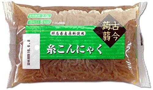 黒糸こんにゃく42個セット 国産原料 肉じゃが 煮物 すき焼き 鍋等