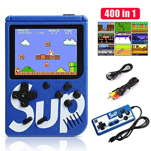 WOLONG Consola de Juegos Portátil,400 Juegos Retro Consola con 3 Pulgadas Pantalla a Color,Soporte Dos…