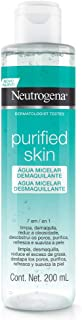 Água Micelar Purified Skin Micelar, Neutrogena, 200ml