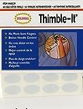 Colorbok Thimble Finger pad, 1 Pack, Beige...