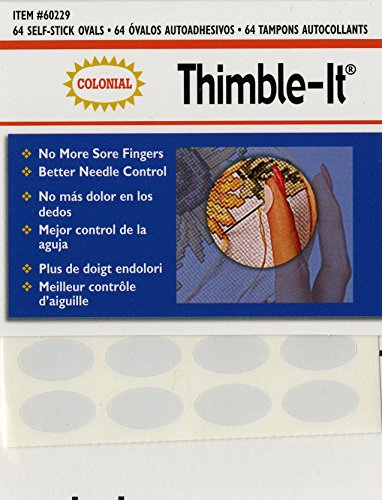 Sale!! Colorbok Thimble-It Finger Pads, 64 Per Package