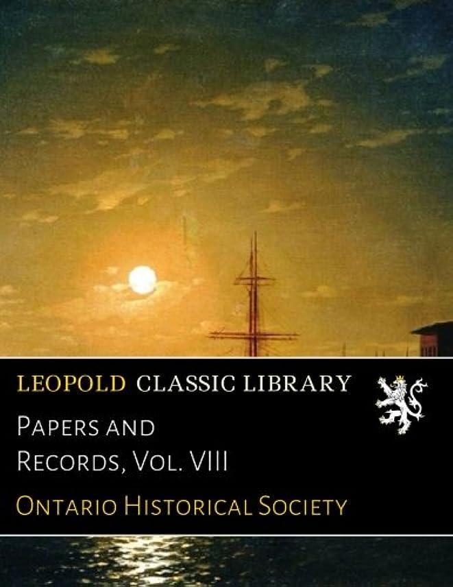 雑種サラミれるPapers and Records, Vol. VIII