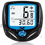 KASTEWILL Bike Speedometer Original Wireless Bike Odometer Waterproof Cycle Computer with Automatic Wake-up Multi-Function LCD Backlight Display