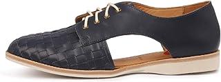 ROLLIE SIDECUT Woven Womens Shoes Flats Shoes