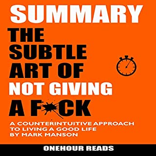 Summary: The Subtle Art of Not Giving a F*ck cover art