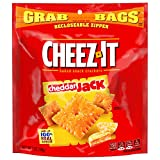 Cheez-It Baked Snack Cheese Crackers, Cheddar Jack, 6 Bags