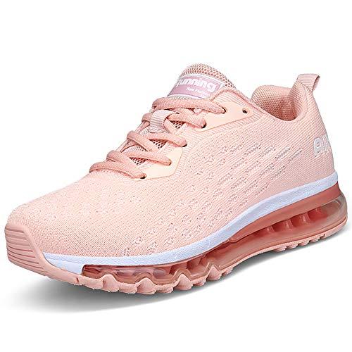 Air Zapatillas de Deportes Hombre Mujer Zapatos Deportivos Running Zapatillas para Correr 35-46 EU