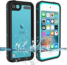 iPod Touch 7 Touch 6 Touch 5 Waterproof Case, BESINPO Full-Body Protective Built-in Screen Protector Dustproof Shockproof Anti-Scratch Cover Case Compatible with Touch 7th/6th/5th Generation
