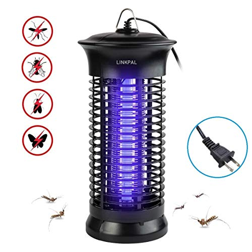 LINKPAL Electric Bug Zapper Powerful Insect Killer Mosquito Zappers Mosquito lamp LightEmitting Flying Insect Trap for Indoor