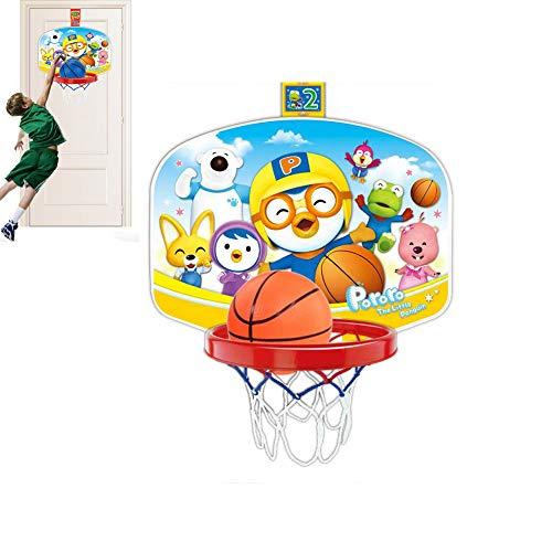 LBWNB Hänge Kunststoff Basketball Standplatz-Karikatur-Aufkleber Basketballkorb Kinder Outdoor- Und Indoor Basketball-Spielzeug