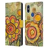 Head Case Designs Licenciado Oficialmente Wyanne Luz de la mañana Naturaleza Carcasa de Cuero Tipo Libro Compatible con Xiaomi Mi Mix 3