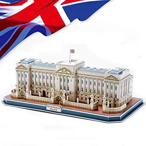 CubicFun 3D Puzzle de Buckingham Palace DIY Modelo Decoración de Regalo, 72 Piezas