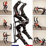 INFINYFIT 130- La Seule Chaise Romaine Pliable - Appareil de Musculation Complet - Mieux qu'une Cage de Musculation - Idéal pour la Musculation à la Maison