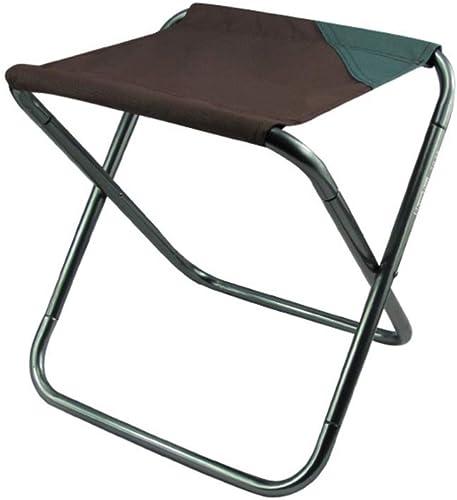 Lisserf 1 stück Robuste Leichte Klappstuhl Outdoor Hocker Aluminium Sitz für Wandern Picknick Reisen