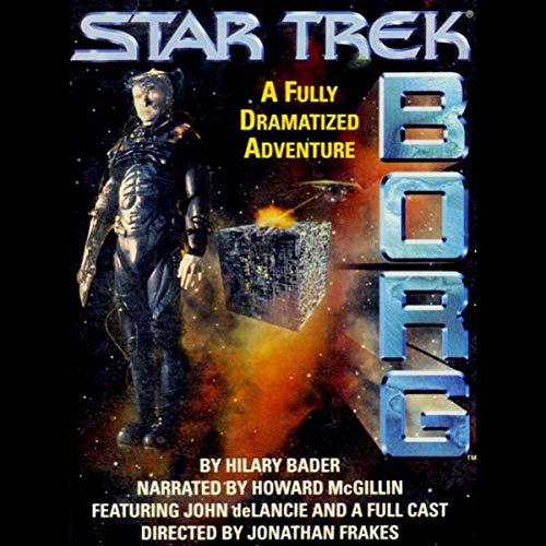 Star Trek: Borg (Adapted) audiobook cover art