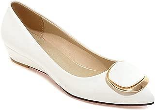 Surprise S Wedges Lady Shoes Wedge Heels Bridal Wedding Shoes Low Heels Pumps Ladies Wedge Heels Pink White 9 10 40 42 43