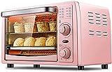 LYXY Cocina Mini Tostadora Horno 13L Mini Horno Eléctrico Multifuncional Regulable Temporizador de Control de Temperatura Hogar Horno Horno Hor