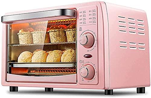LYXY Cocina Mini tostadora Horno 13L Mini Horno eléctrico Multifuncional Ajustable Control de Temperatura Temporizador de Hornear for Hornear Máquina de Fruta Seca