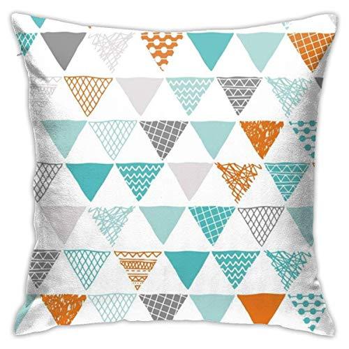 Throw Pillow Covers, Geometry Cushion Square Case Fundas de Almohada Sofá Decoración para el hogar