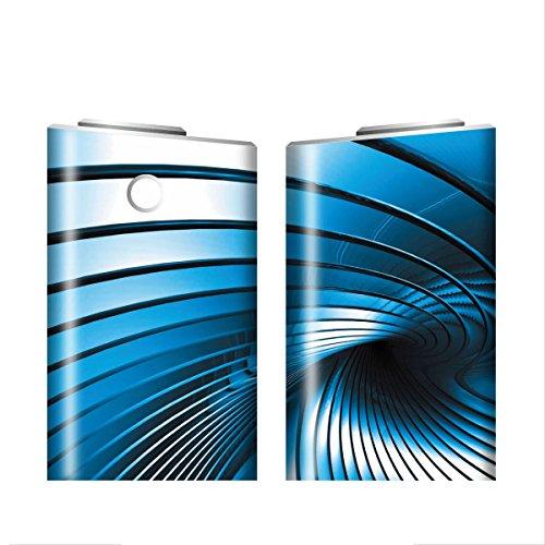 グローシール glo グロー シール glo グロー専用 スキンシール 電子タバコ ステッカー 14 メタル METAL 01-gl0052