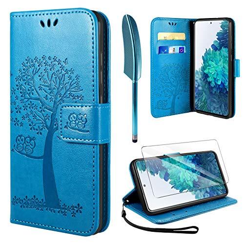 AROYI Funda Compatible con Samsung Galaxy S20 FE 5G y Protector de Pantalla, S20 FE 5G Soporte...