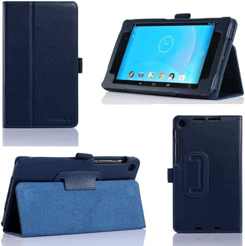 i design Nexus 7 FHD Premium Leather Case with Flip Stand Stylus Loop and Wake Sleep Function product image