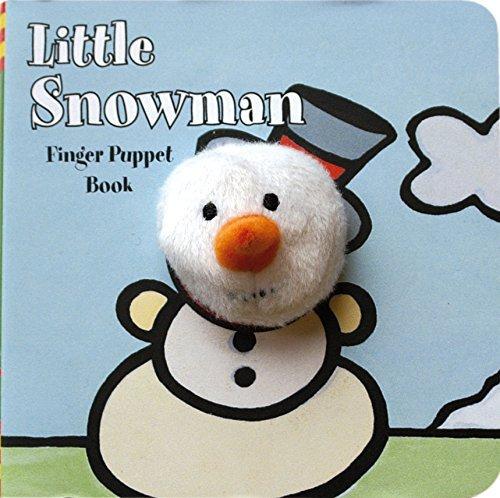 Little Snowman: Finger Puppet Book (Little Finger Puppet Board Books) by ImageBooks (2008-09-01)