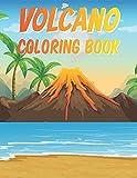 Volcano Coloring Book
