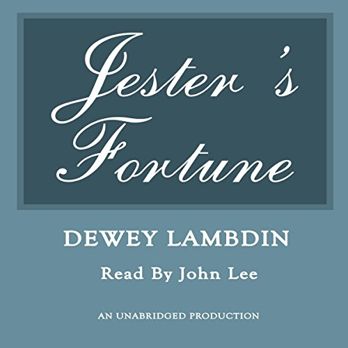 Jester's Fortune audiobook cover art