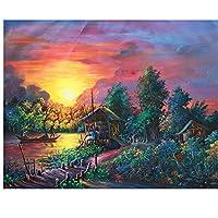ジグソーパズル2000ピース森の風景ジグソーパズルフラワー