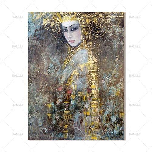 zxddzl Leinwand malerei Moderne Wand Farbe Zeichen drucken Dekoration malerei und Kalligraphie 10 60 * 90 cm