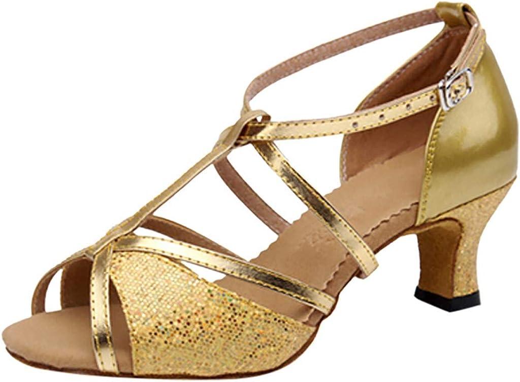 Women's Rumba Waltz Prom Ballroom Latin Salsa Dance Shoes Square Dance Shoes