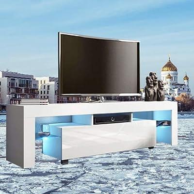 TV Stand Cabinet - Modern Minimalist TV Cabinet...