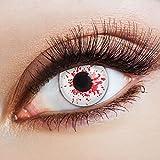 Lenti a contatto colorate Blood Splash da Aricona – coprendo anni lenti per gli occhi ch...