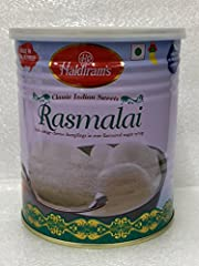 Product of India - Export pack Tastes Great Soft cottage Cheese Dumplings In Rose Flavoured Sugar Syrup