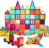 VATENIC 120PCS Kids Magnetic Tiles Building Blocks Set 3D Color Magnetic Blocks Toys for Kids Children,Educational Learning Toys Birthday Gifts for Boys Girls Age 3 4 5 6 7 8 9 10 Year Old