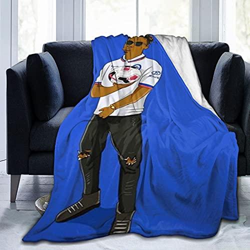 Chelsea (153) Manta de lana súper suave, adecuada para sofá cama y camping