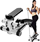 LeeBY Home Treadmills Elliptical Machines,Home Workout Equipment, Manual Stepper Treadmill, Gym Exercise Bike Trainer,Under Desk Exercise Treadmill