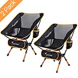 Sportneer Chaise de Camping Pliante, Portable...