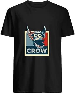 Vote Crow T- Robot 51 T shirt Hoodie for Men Women Unisex