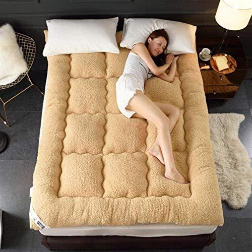 xiaofeng Tatami para Dormir, Colchones De Tatami Japoneses Transpirables para Dormitorios En El Hogar, Colchones De Piso Plegables, Adecuados para Camas De 1,5 M Y 1,8 M(Size:120 * 200CM,Color:C)
