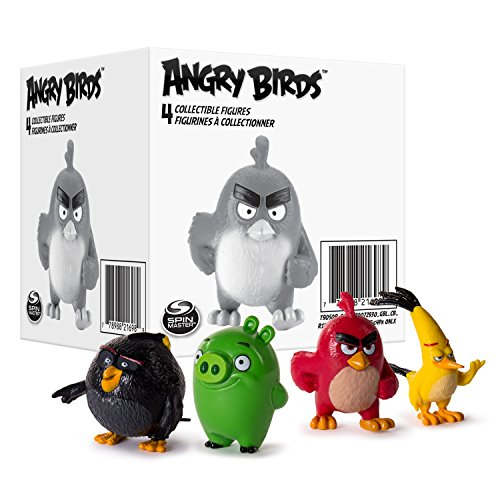 Angry Birds 15 312 997,1 cm Mini Figure (Lot de 4)