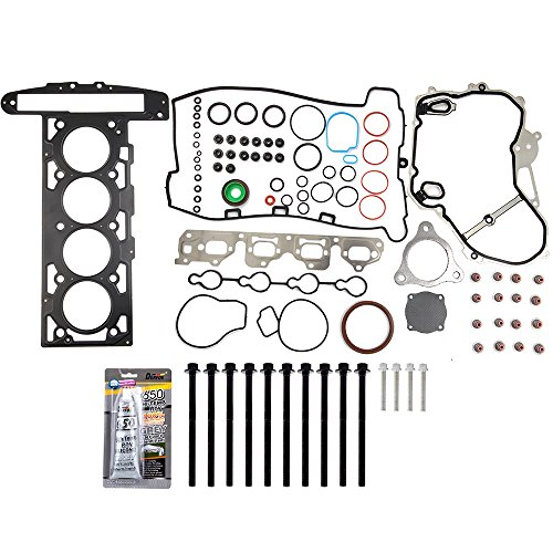 ECCPP Engine Replacement Head Gasket Set with Bolts for 07 08 for Chevrolet Cobalt HHR Malibu 2.2L L4 DOHC VIN F D