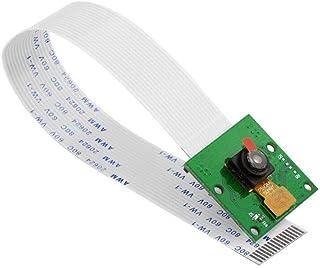 KEYESTUDIO 5MP カメラ モジュール ウェブカメラ for Raspberry Pi ラズベリーパイ2 3 4 Model B+ 電子工作 電子部品