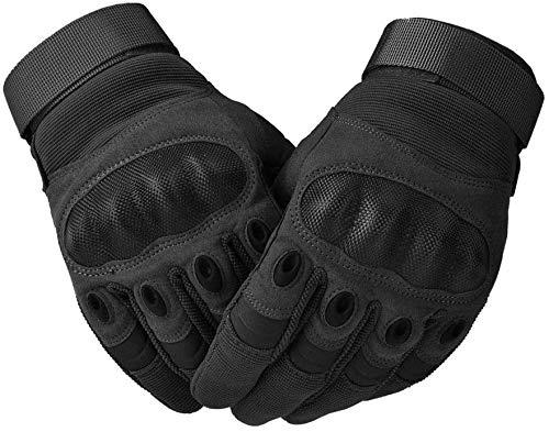 COTOP Motorrad Handschuhe, Hard Knuckle Handschuhe Motorrad Handschuhe Motorrad ATV Reiten Full Finger Handschuhe für Männer (M) - 6
