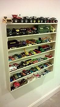 VersaRacks - Cars Thomas the Train Monster Trucks Legos Model Wall Display Case Shelf