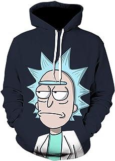 20 style Wish women/men teenager hoodies fleeces Hoody Rick and Morty Boutique hoodie couples Street trend hooded Sweater ...